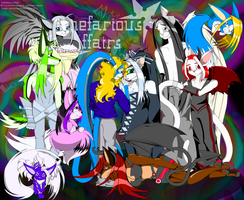 Nefarious Affairs .::Poster::. by ElectriCatt