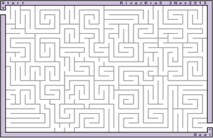 Excel Maze 2 by RiverKpocc