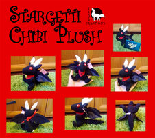 Chibi Dragon Plush for Stargetti by Ishtar-Creations