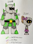 Meet The Paladins- Green + Violet by TheForbiddenTenet