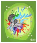 Rainbow Splat by mysticalpha