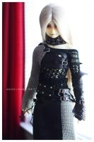 Chainmail and Leather by Nezumi-chuu