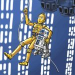 Droids Over Chasm by zenzmurfy