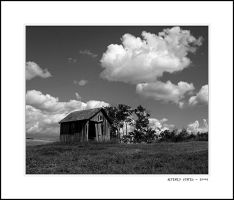 Hideaway Under The Clouds BW by altered-states