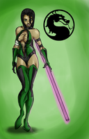 MORTAL KOMBAT jade by monkeydonuts246