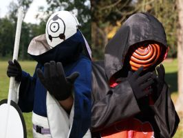 Tobi cosplay  - The old and The new by IkasuTaiki