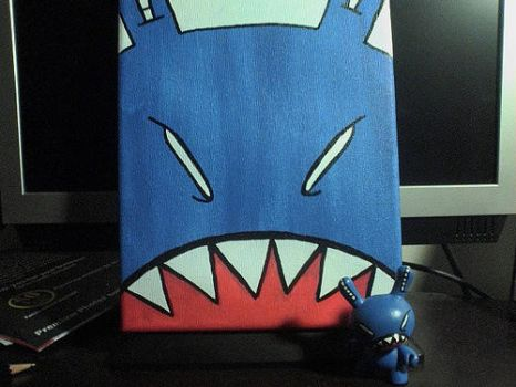 Jaws the Dunny by MahLee