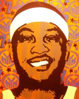 Carmelo Anthony by chrispjones