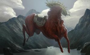 Motherland Chronicles #1 - Red Horse by tobiee