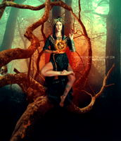 Keeper of the forest by HayleyGuinevere