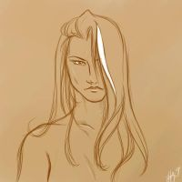 She is Sepia by sleepyoldvamp