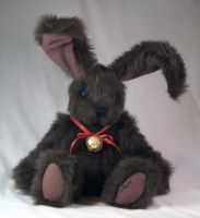 Brown Rabbit Plush by The-GoblinQueen