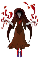 Witch of Blood by Winged-Seahorse