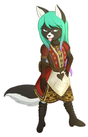 Commission: Germaine by foxhat94