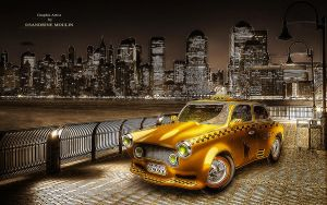 Yellow cab by noune83