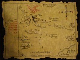 Thorin's Map by ConsultingTimeLord96