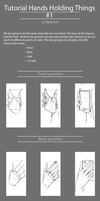 Tutorial Hand Holding Things 1 by GonzaU