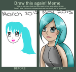 DRAW THIS AGAIN MEME HUGE IMRPOVEMENT by EpicPenguinDraws
