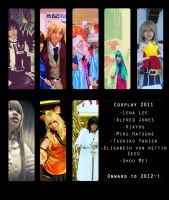 Cosplays of 2011 by drillclan