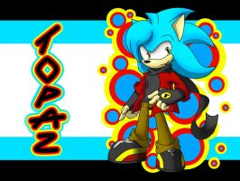 PC - Topaz the Hedgehog by AR-ameth