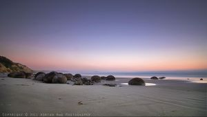 Moeraki Dawn by AdrianAmeno