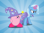 Kirby and Trixie. Magical duo by KingToby19