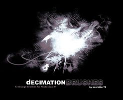 Decimation Brushes by Axeraider70