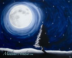 A Solstice Night by MadameAradia