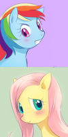Pegasus doodles! by magicalondine