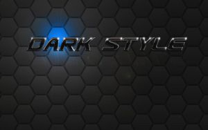 DarkStyle - Wallpaper by fifteeNArt