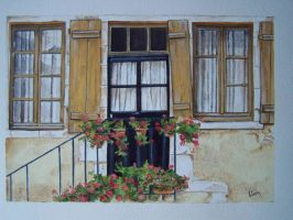 Doorway in France by artistik-ly-bent
