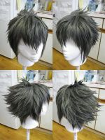 Noctis Wig Commission by red-cluster