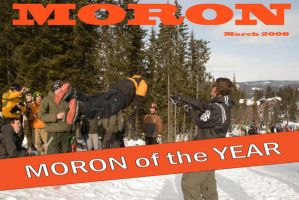 Moron of the year by Anthroviking