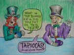 Mad Melvin Hatter meets Theo 2 by AtomykTickTock