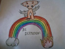 Be Different by GothicHeart9