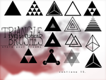 Triangle brushes - .ABR by stoleyourdreams