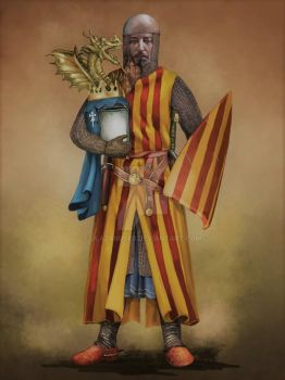 King of Aragon by JLazarusEB