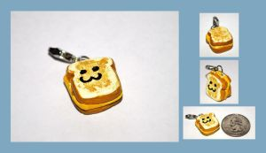 Grilled Cheese Charm by Strange-1
