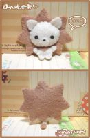 Lion Plushie by littlepaperforest