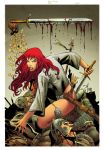 Red Sonja 56 Cover by wgpencil