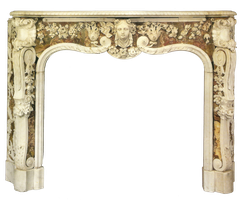 Marble fireplace by jinifur