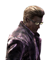 Resident Evil Wesker Large Render HD by VIOLET-2010