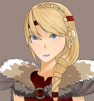 Astrid (how to train your dragon) by moroboshi1