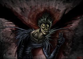 Ryuk Shinigami by Cariman