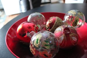 Christmas Balls by NuclearErf
