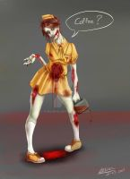 Zombie Waitress by PhelRina