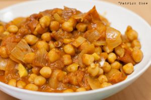 Curried chickpeas 1 by patchow