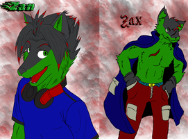 Zan and Zax by EdwardxWinryrocks