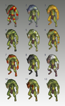 Troll colour ideas by JeanRoux