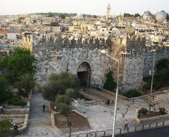 Damascus Gate by bricolage54